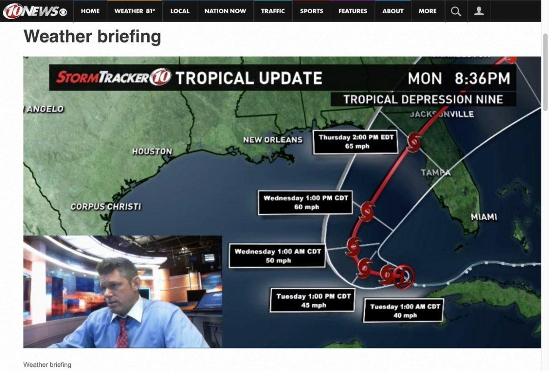 New WX Briefing on Tropics -  #WTSP #flwx