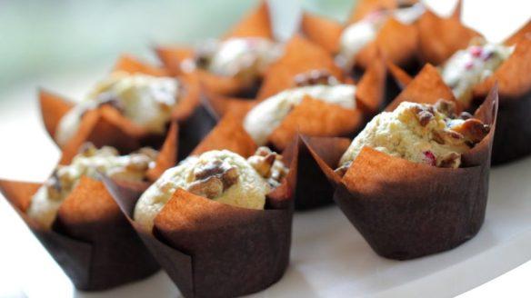 Beth\'s Cranberry Walnut Muffins