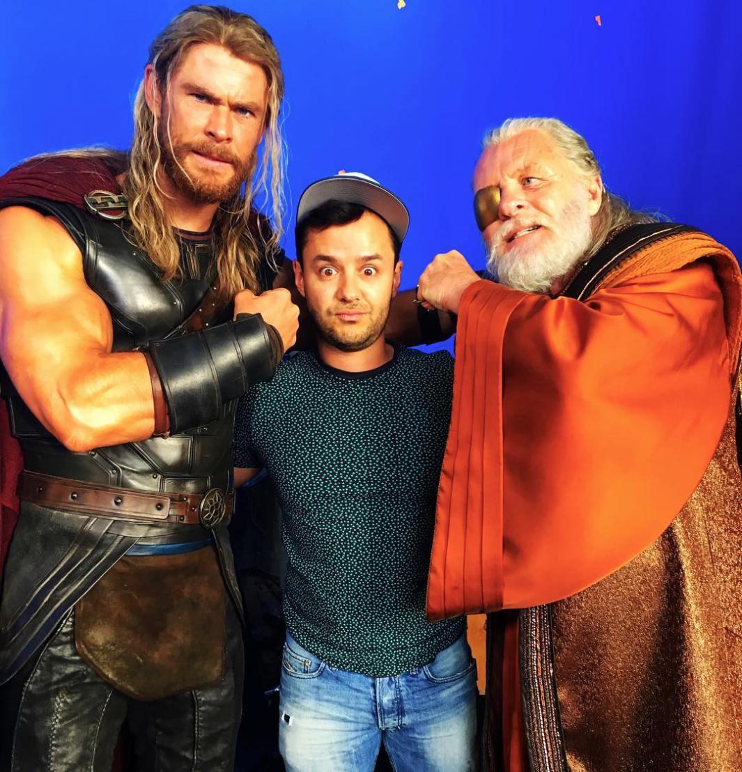Thor: Ragnarok Set Photos 3