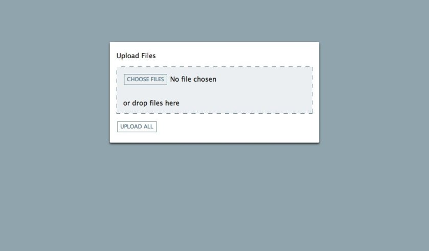 Create the drag&drop file upload in #ReactJS easily: