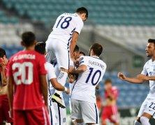 Video: Gibraltar vs Hy Lạp