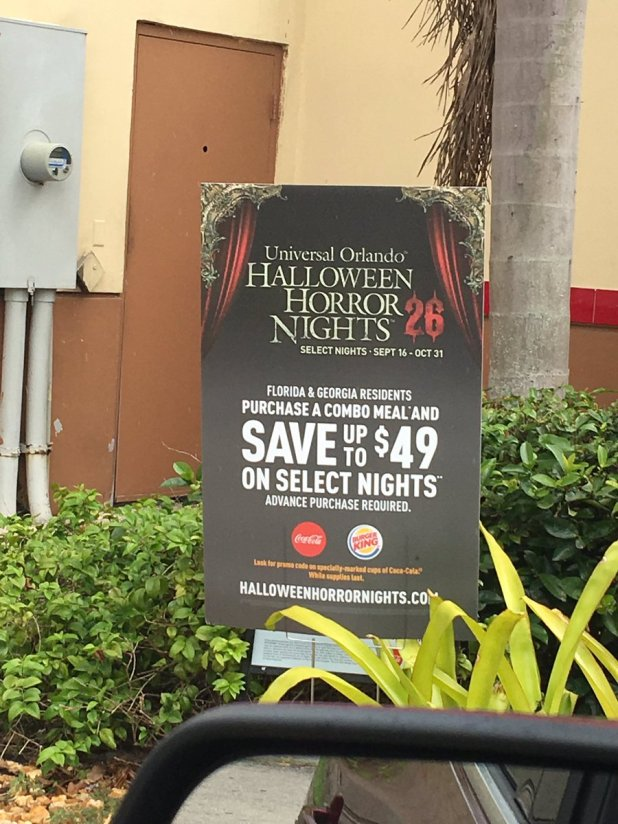 halloween horror nights promo code burger king cartoonview co