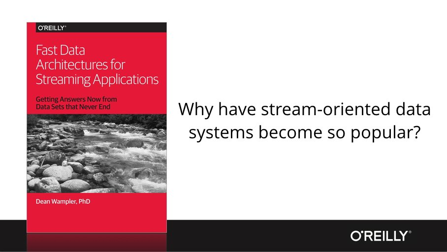#bigdata architect @deanwampler on streaming systems & time sensitive problems
