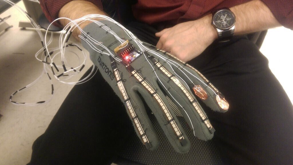 Futuristic Smart-Glove Can Translate Sign Language Into Text and Speech  #Wearables #IoT
