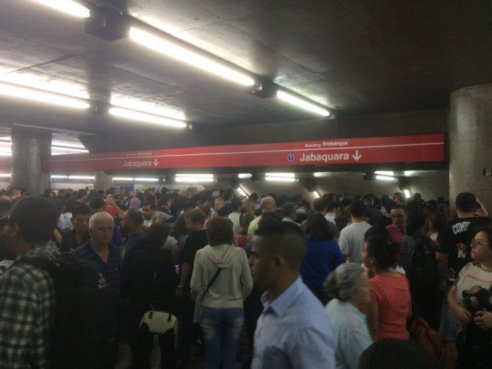 Estação Sé. (Foto: Maroka Mello)