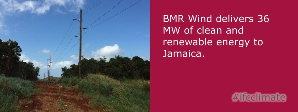 #Jamaica tackles #climatechange with #windfarm producing 36 MW of #renewableenergy yearly