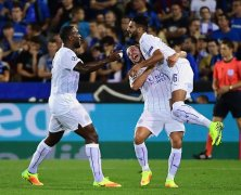 Video: Club Brugge vs Leicester City