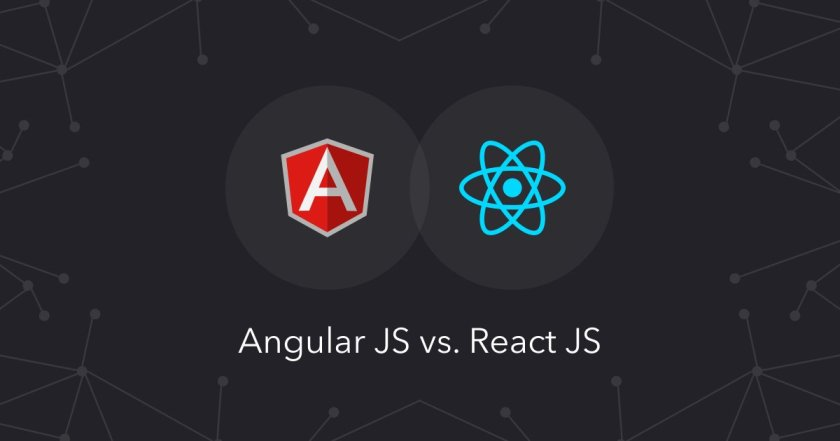 A survey determined @angularjs🅰 & @reactjs⚛ rule the frontend landscape. But which one wins?