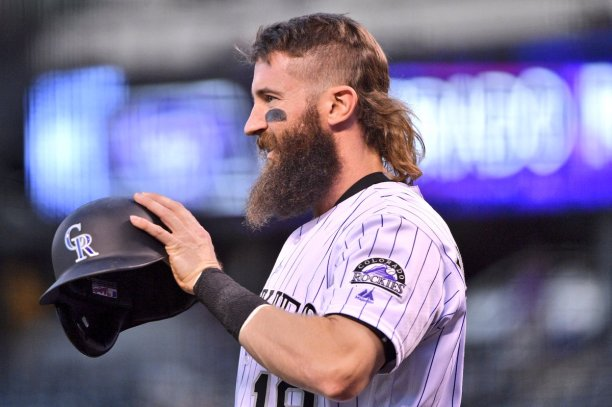 Image result for charlie blackmon mullet