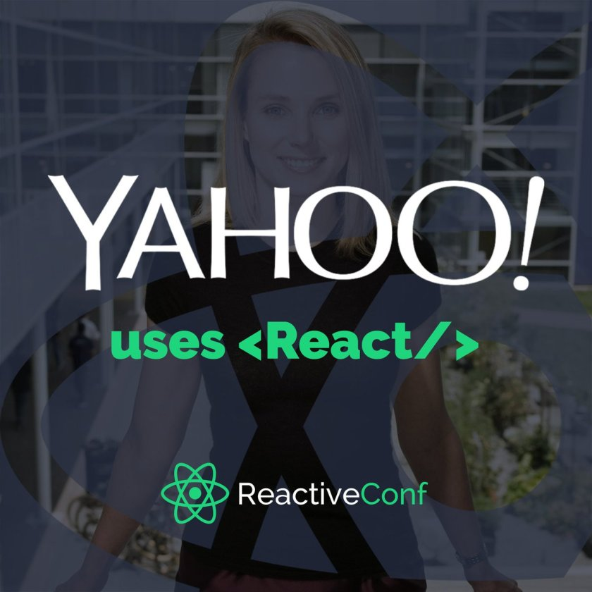 .@Yahoo chose @ReactJS + Flux for building their next generation Mail: