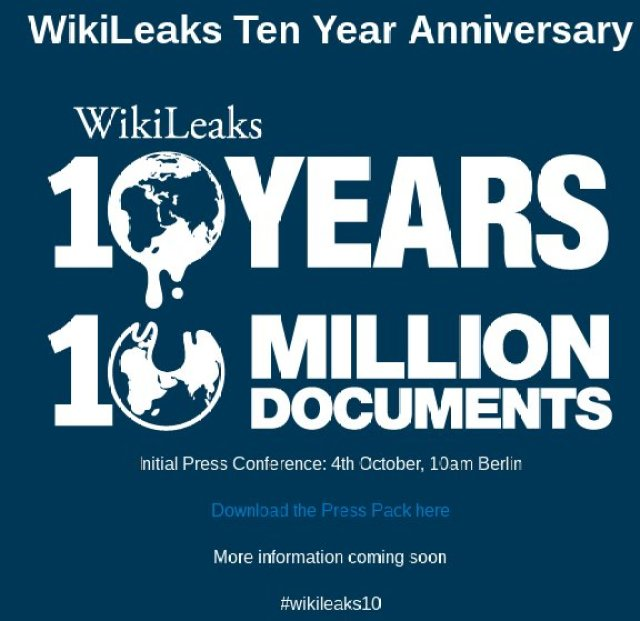 Image result for WikiLeaks 10