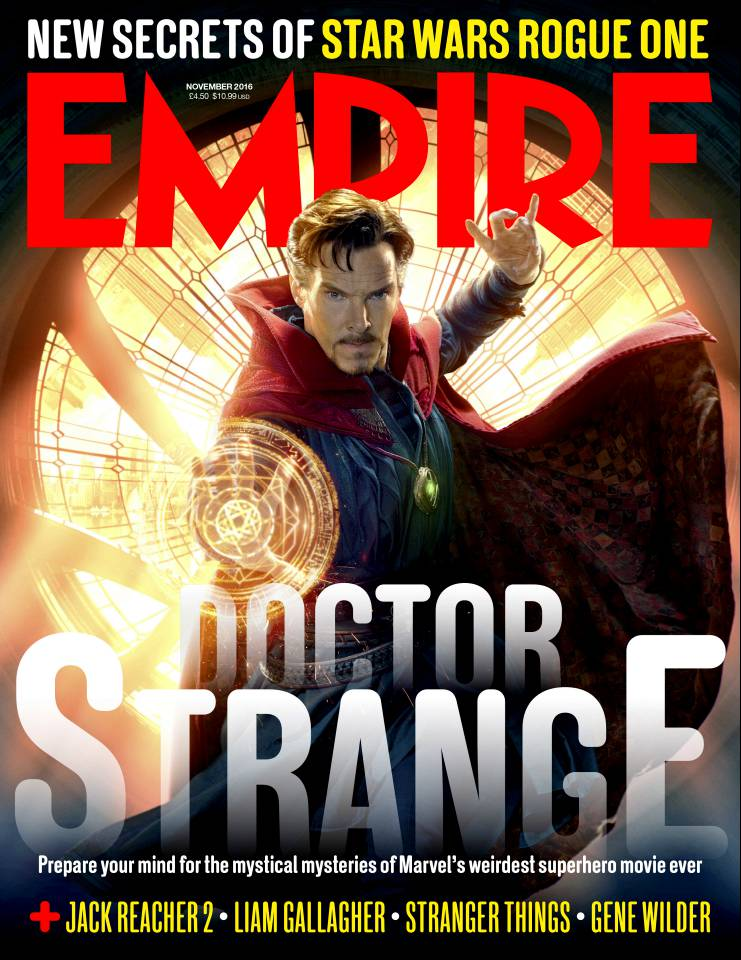 New Doctor Strange Photos & Empire Cover Revealed 4