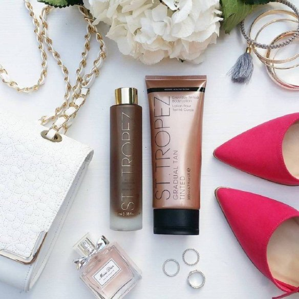 Achieving that perfect tan is easy with @StTropez: