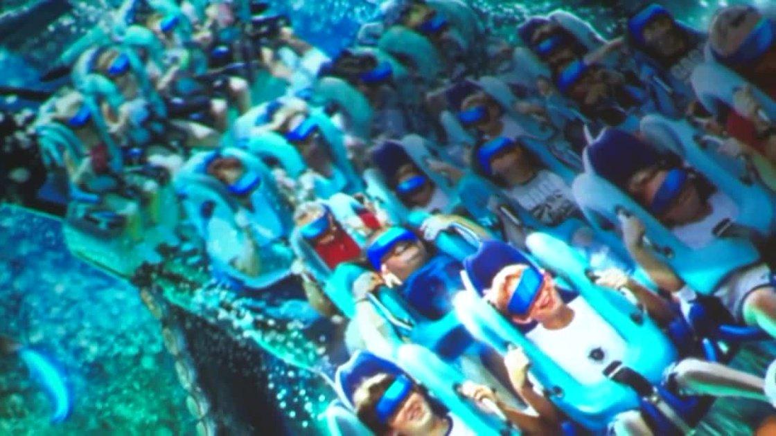 SeaWorld announces new virtual reality coaster