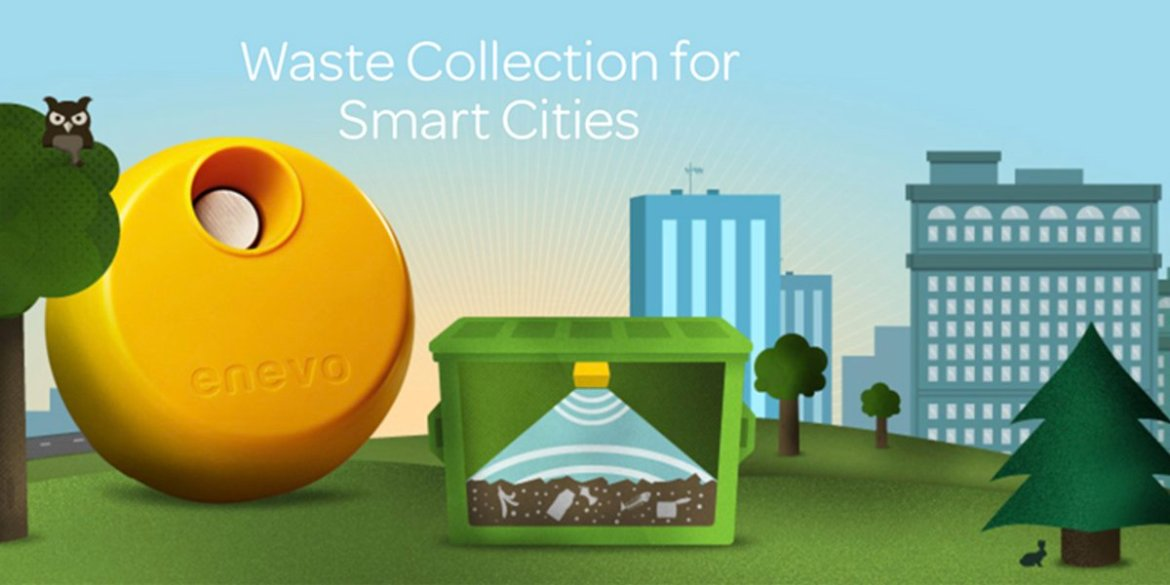 Finnish waste #IoT makes street bins smart in UK's  #Finland #smartcity