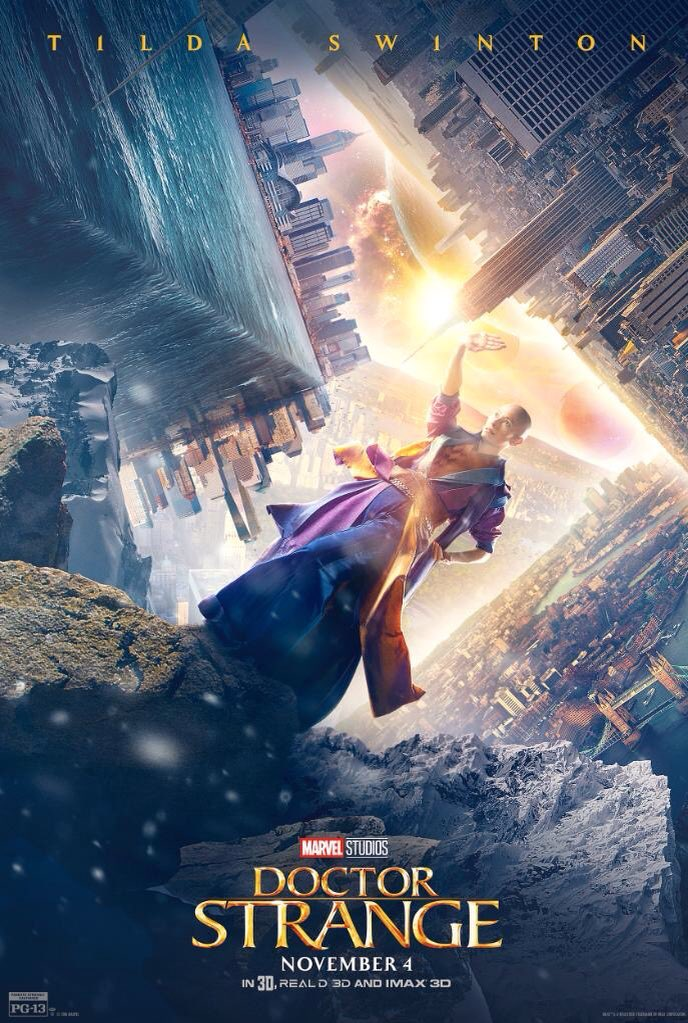 New Doctor Strange Character Posters Revealed 1
