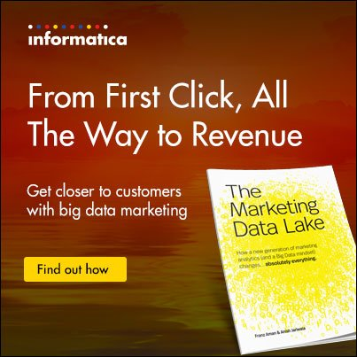 How to Build a Marketing #DataLake in 60 Days  #BigData #StrataHadoop