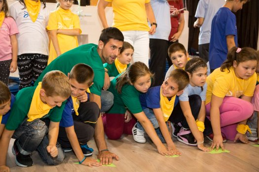Novak Djokovic spends the weekend with his family and ...