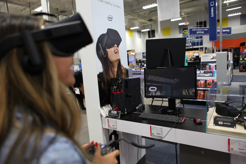 You Can Now Demo Oculus Touch At Best Buy #VR