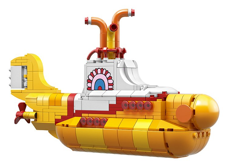 LEGO Is Releasing New Beatles Yellow Submarine Set Featuring Fab Four Minifigs