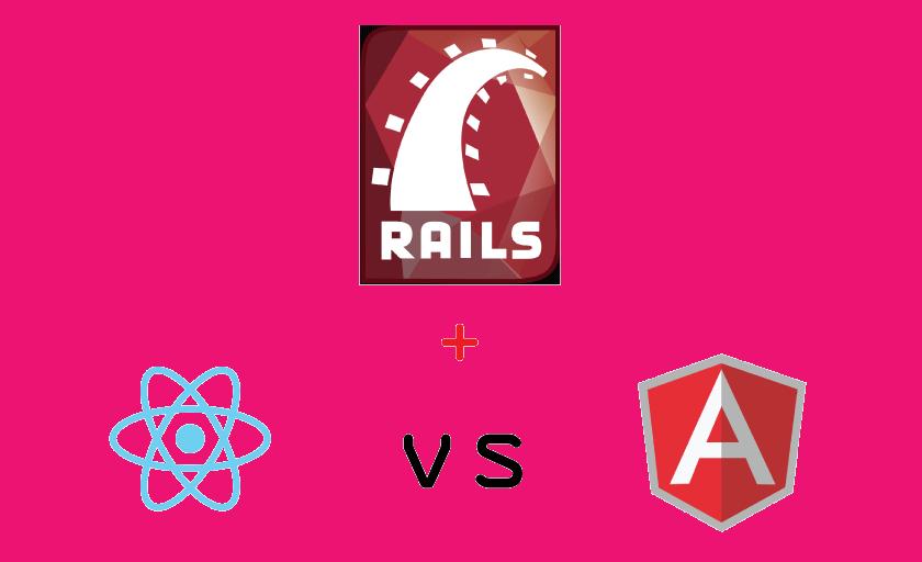 #reactjs vs #angular2 integration with @rails