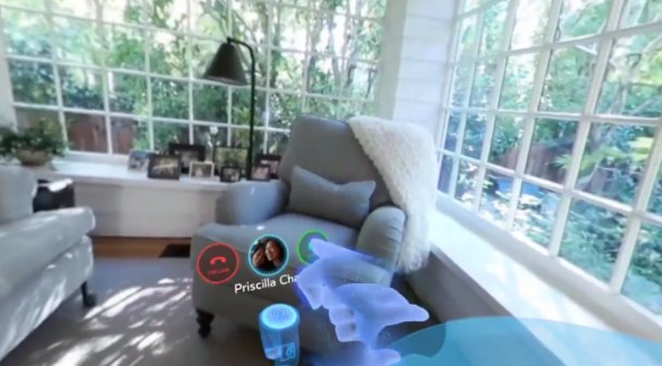 Oculus shows off Facebook Messenger video calls in virtual reality  #OC3