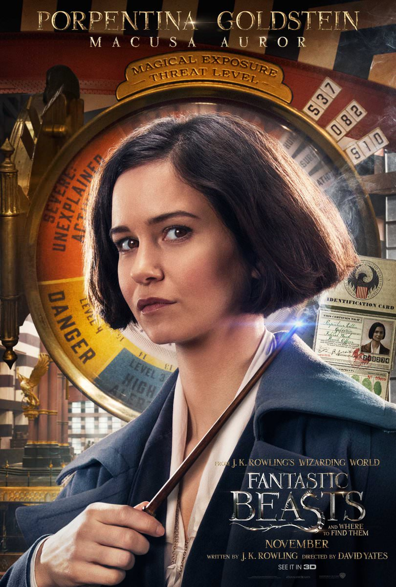 Fantastic Beasts and Where to Find Them Character Posters Revealed 2