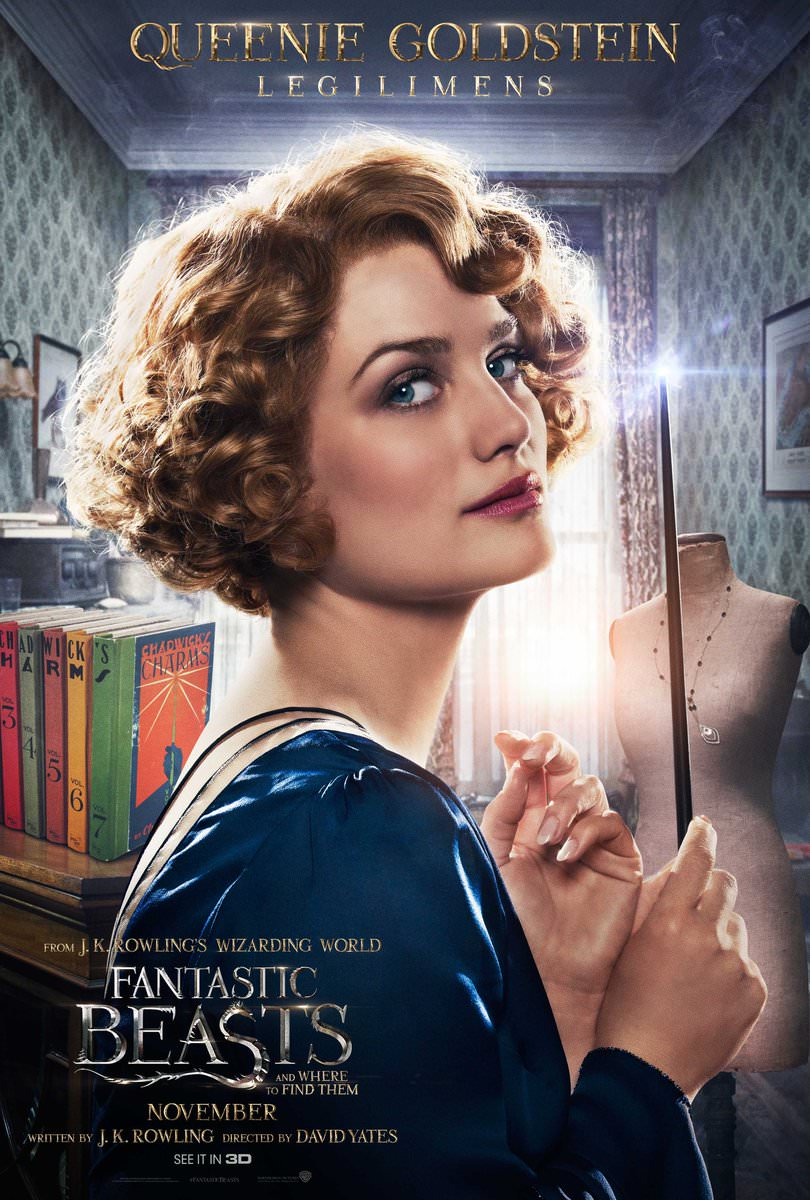 Fantastic Beasts and Where to Find Them Character Posters Revealed 3