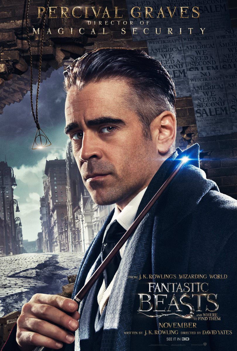 Fantastic Beasts and Where to Find Them Character Posters Revealed 7