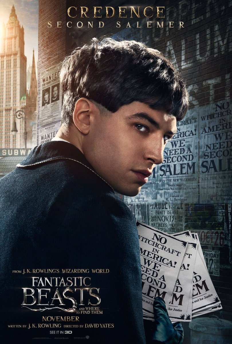 Fantastic Beasts and Where to Find Them Character Posters Revealed 8