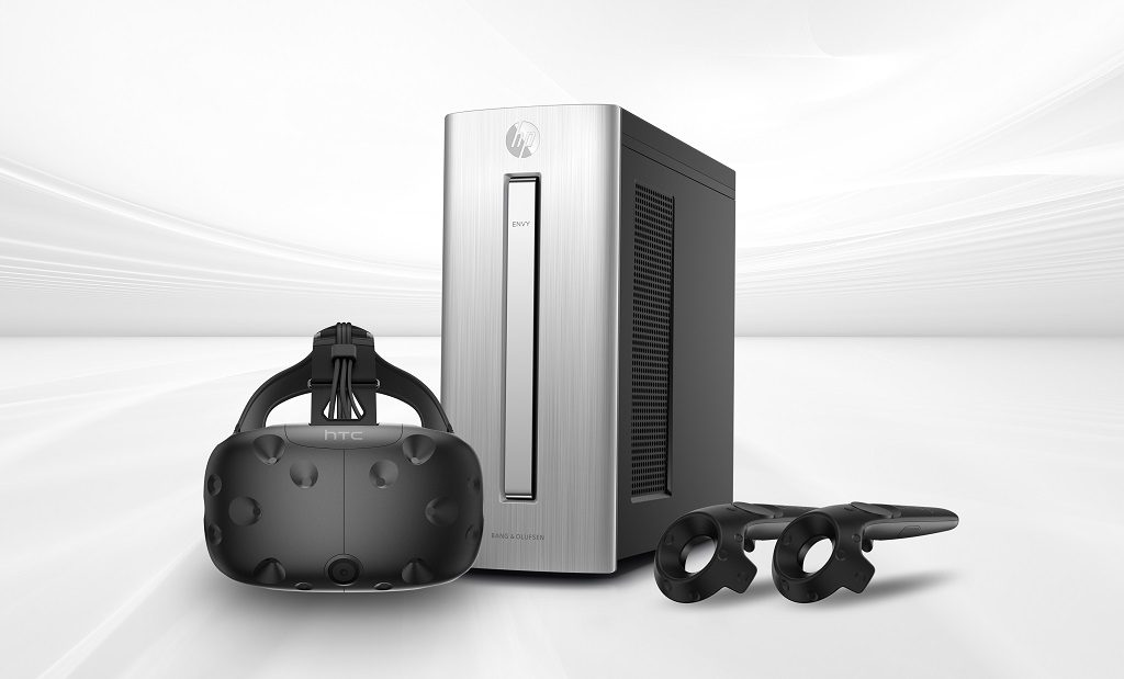 .@HTC and @HP announce the @HTCVive Ready HP computer bundle for £1500:  #VR