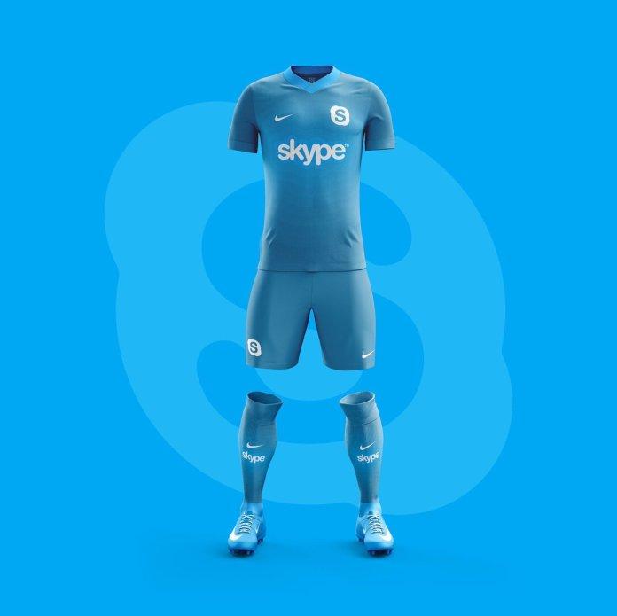 Equipo de Futbol Skype.