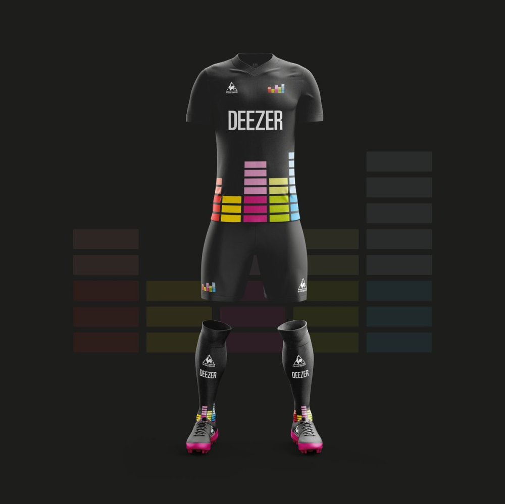 Equipo de Futbol Deezer.