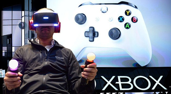 You Can Use Your Playstation #VR To Display Xbox, Wii-U and PS4 Games