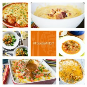 Link up your recipes & DIY with us at FoodieFriDIY! !