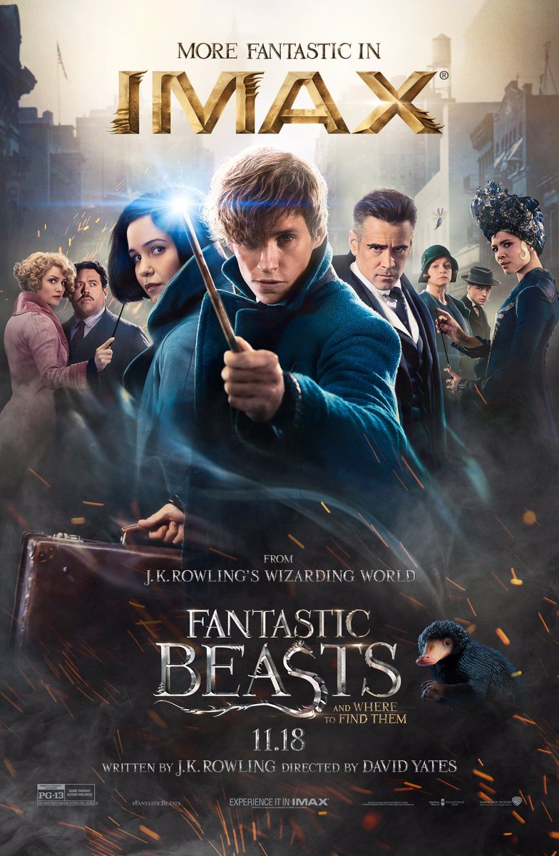 Fantastic Beasts and Where to Find Them IMAX Poster Revealed 2