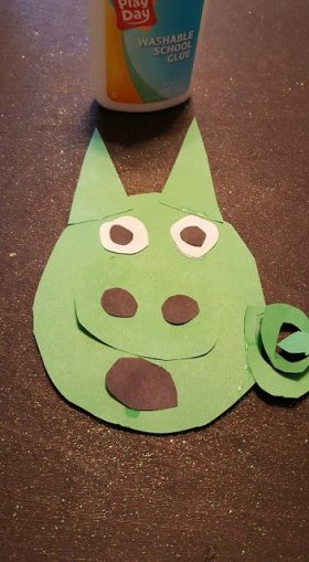 My kids love angrybirds so we made these fun piggie crafts.