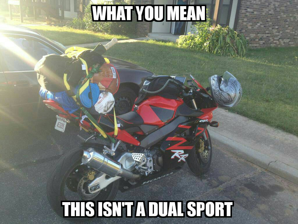 602 Busa On Twitter When You Trade Your Klr650 For A Sportbike