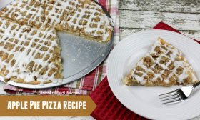 Apple Pie Pizza