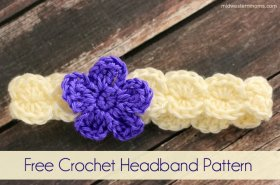 Crochet Headband Pattern DIY crochet crafts