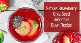 : Simple Chia Seed Bowl : ://