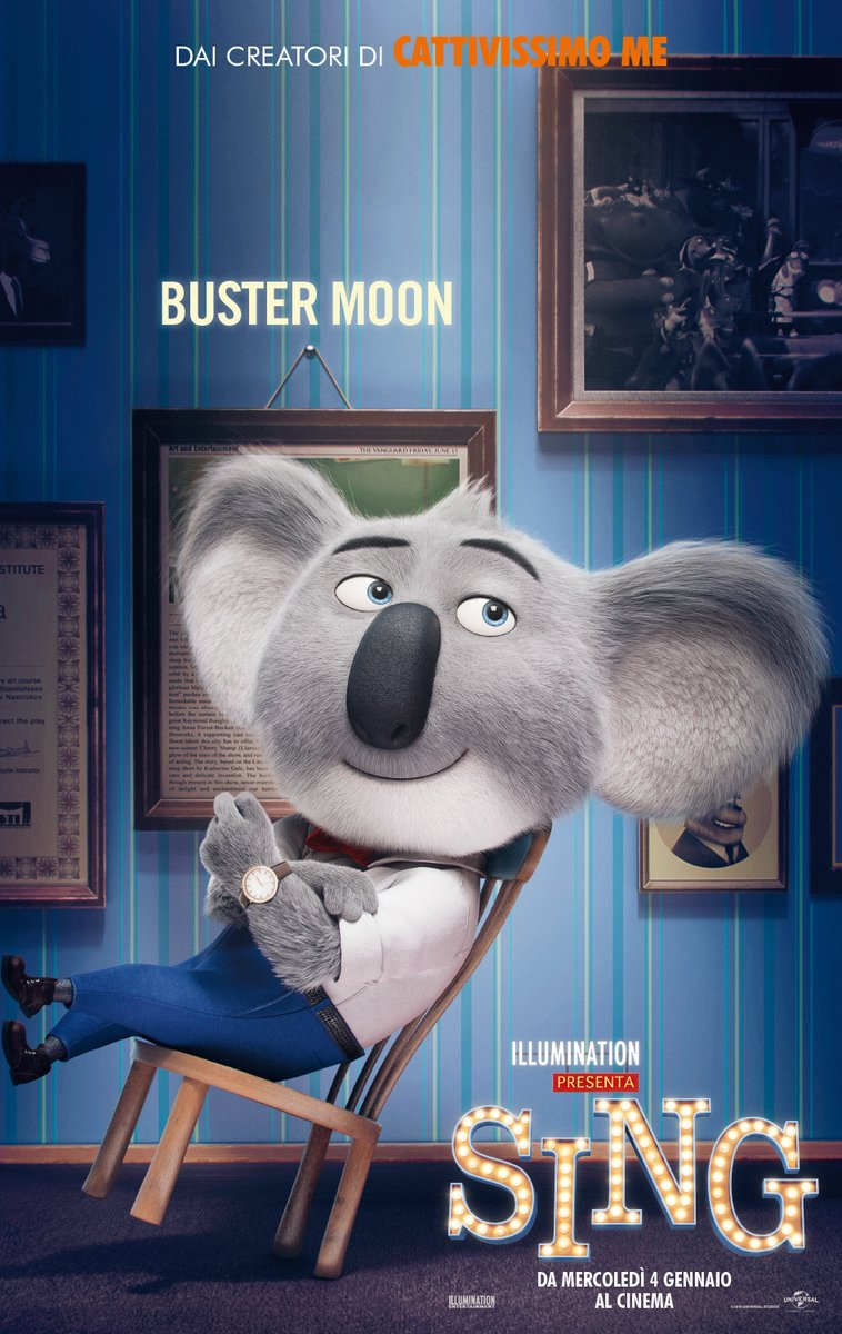 Sing Character Posters Revealed 1