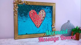 Were totally sure this mermaid message board is how mermaids communicateHGvideo DIY