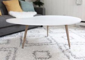 Make this DIY Mid Century Modern Coffee Table for under $50 - DIY