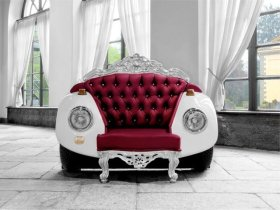 Need new furniture for around the house? Check out these fun DIY car part furniture ideas!