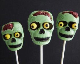 Zombie Cake Pops