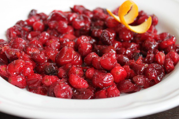 We love @jerryjamesstone\'s Boozy & Baked Cranberry Sauce too!