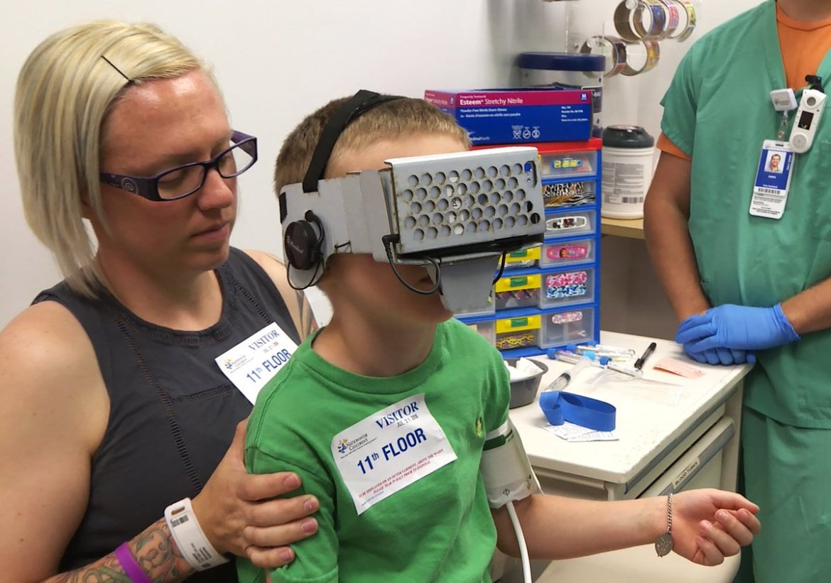 This Hospital is Using #VR to Make Getting Shots Easier For Kids