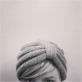 Calienta tu cabeza: bandas o turbantes tejidos a mano DIY moda