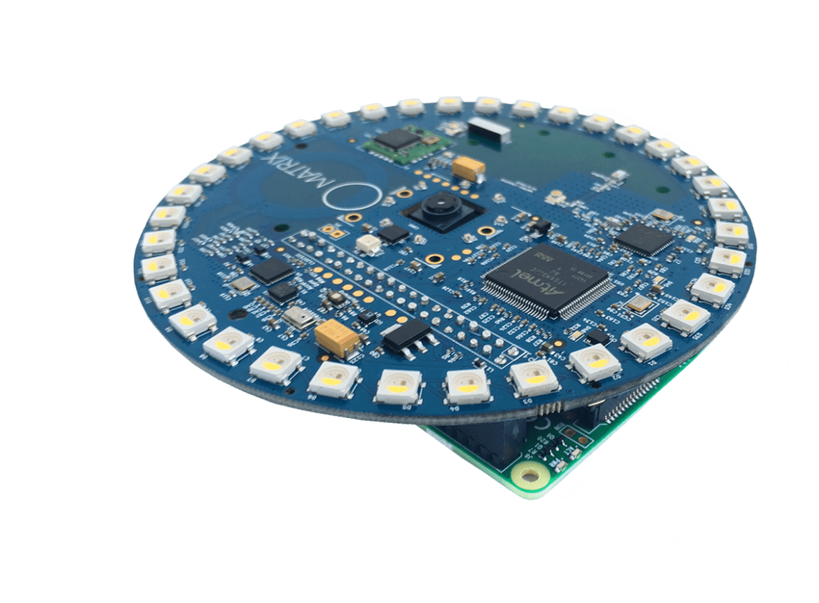 Meet MATRIX Creator, an IoT add-on for Pi